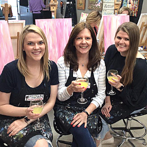 Uptown Art is the best Painting Place to celebrate with friends, sip on a beverage and create fabulous art. Offering step-by-step painting classes.