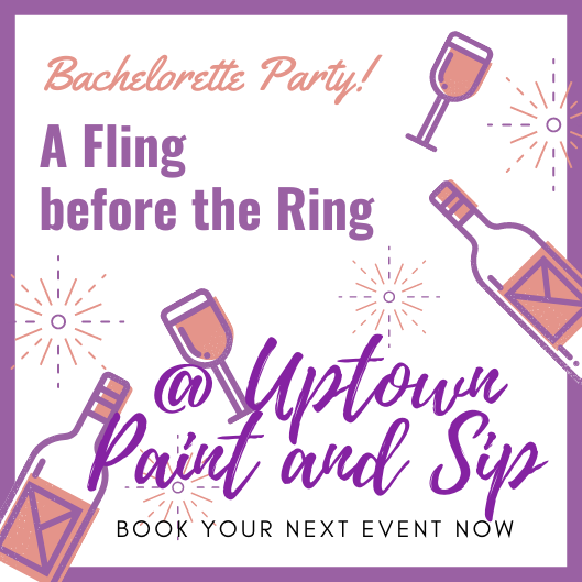 Pink Lavender Wine Bachelorette Party Invitation for a fun girls night out idea in Jupiter FL