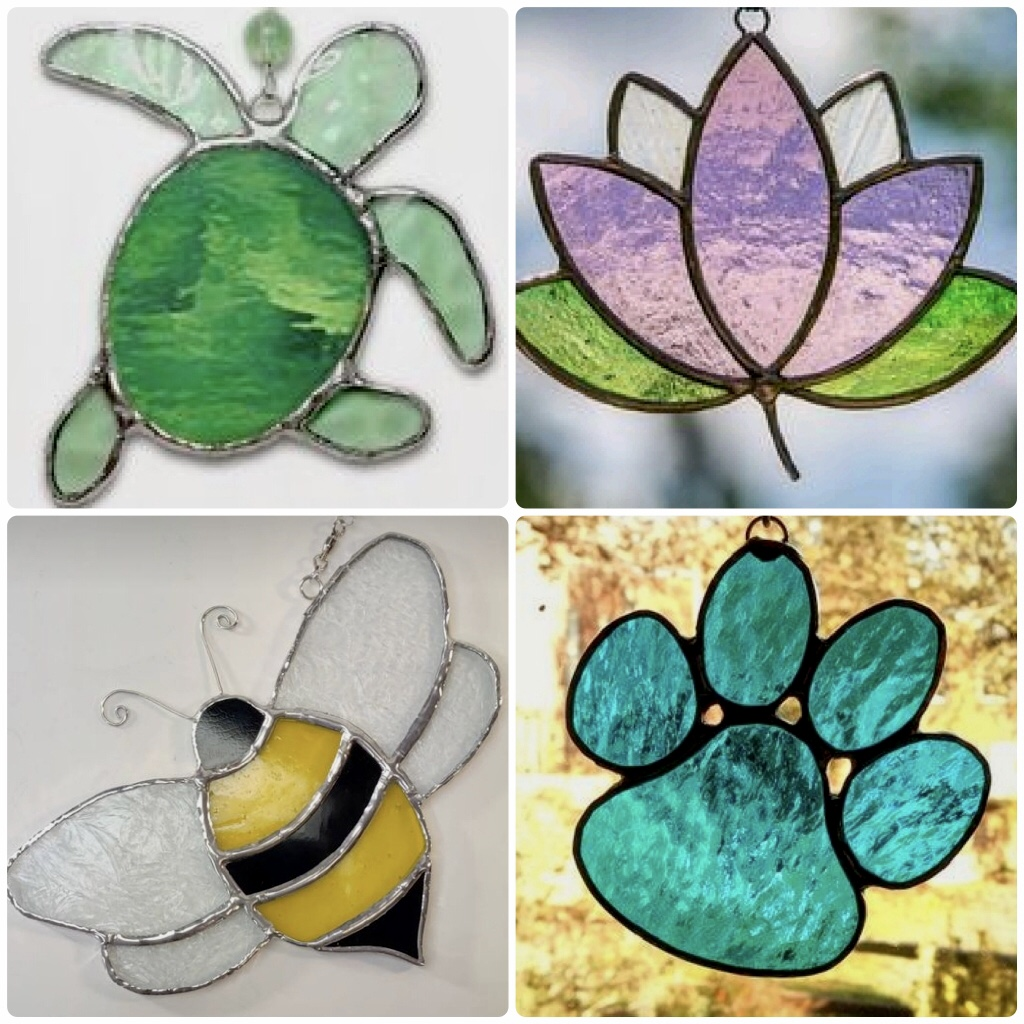 Stained Glass from uptown paint and sip painting classes in Jupiter FL