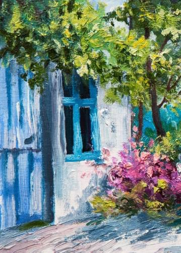 Blue Door from uptown paint and sip perfect for girls night out ideas and a cute date night Jupiter FL