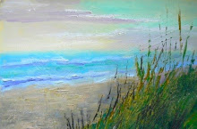 Perfect Time for the Beach from uptown paint and sip painting classes in Jupiter FL